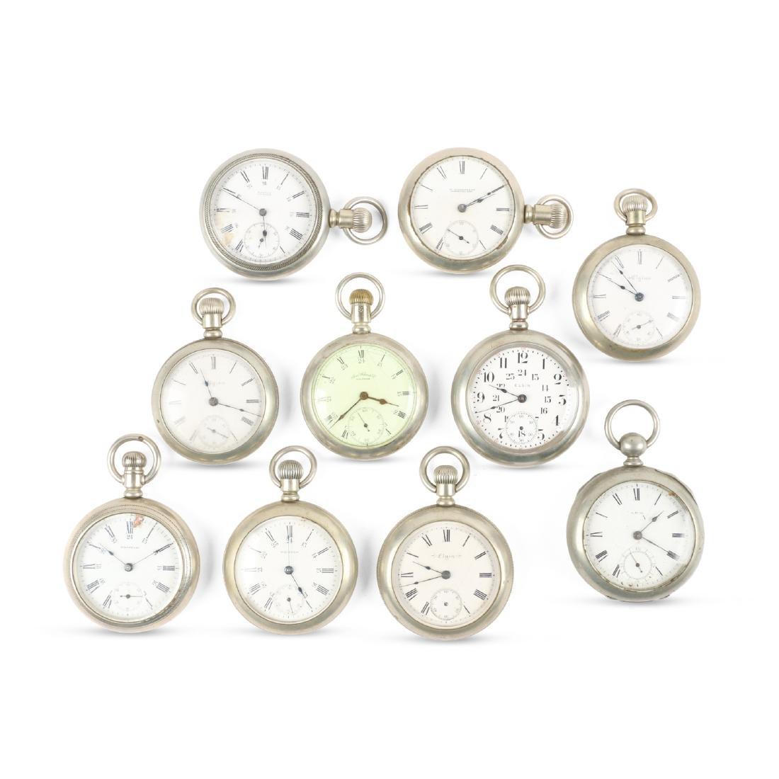 American, Elgin & Waltham Pocket Watches