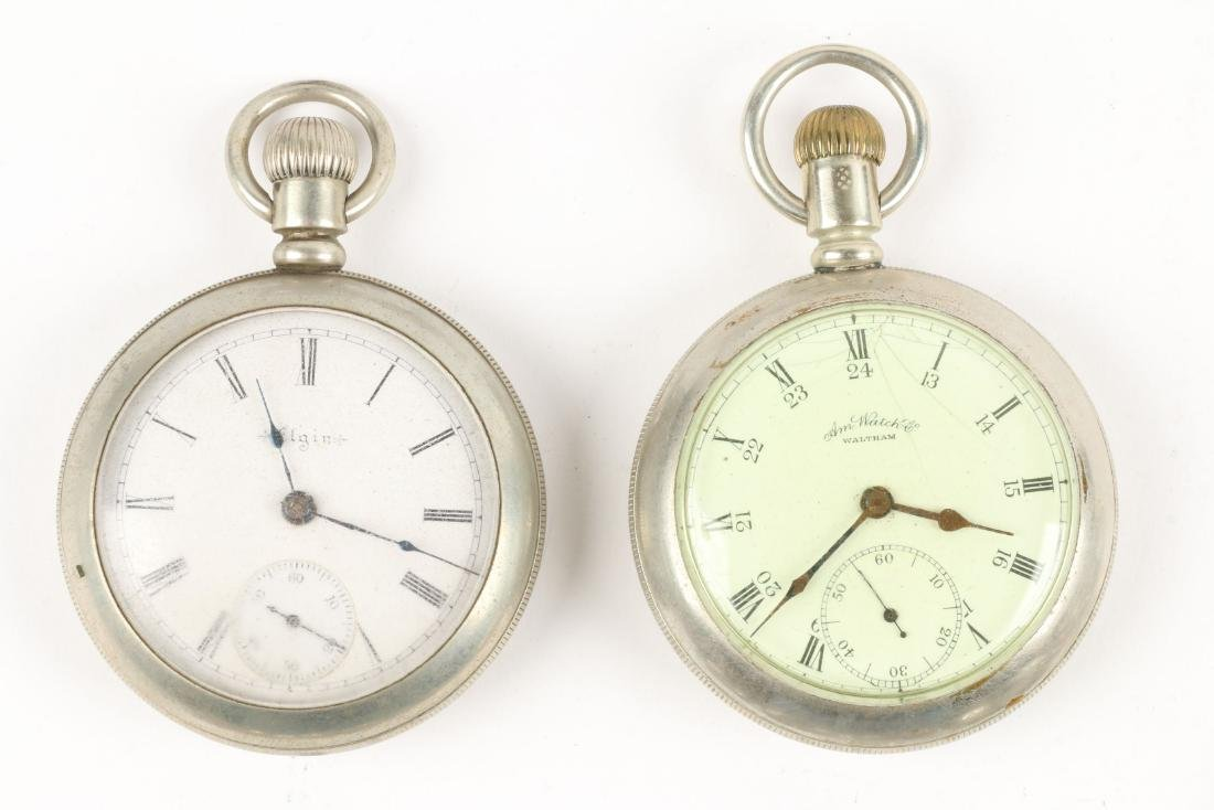 American, Elgin & Waltham Pocket Watches - 3