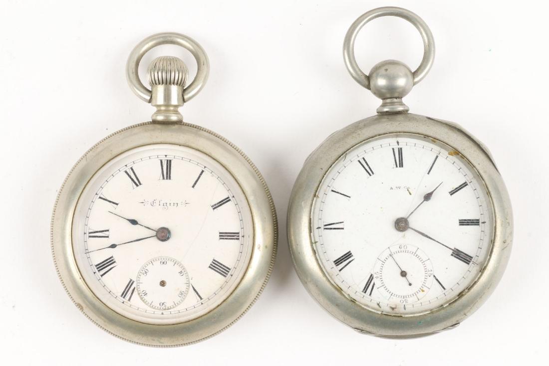 American, Elgin & Waltham Pocket Watches - 5