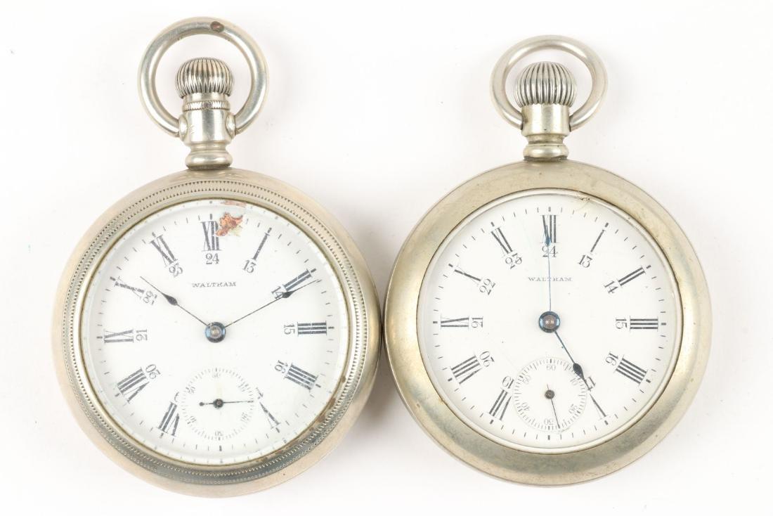 American, Elgin & Waltham Pocket Watches - 6