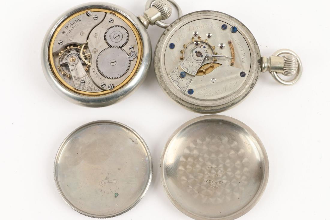 American, Elgin & Waltham Pocket Watches - 8