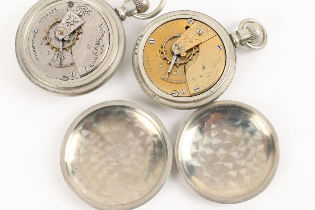 American, Elgin & Waltham Pocket Watches - 9