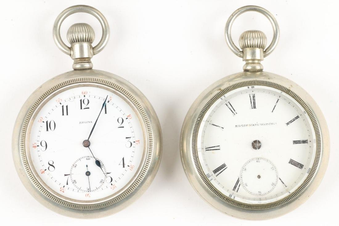 Swiss & American, Pocket Watches - 2