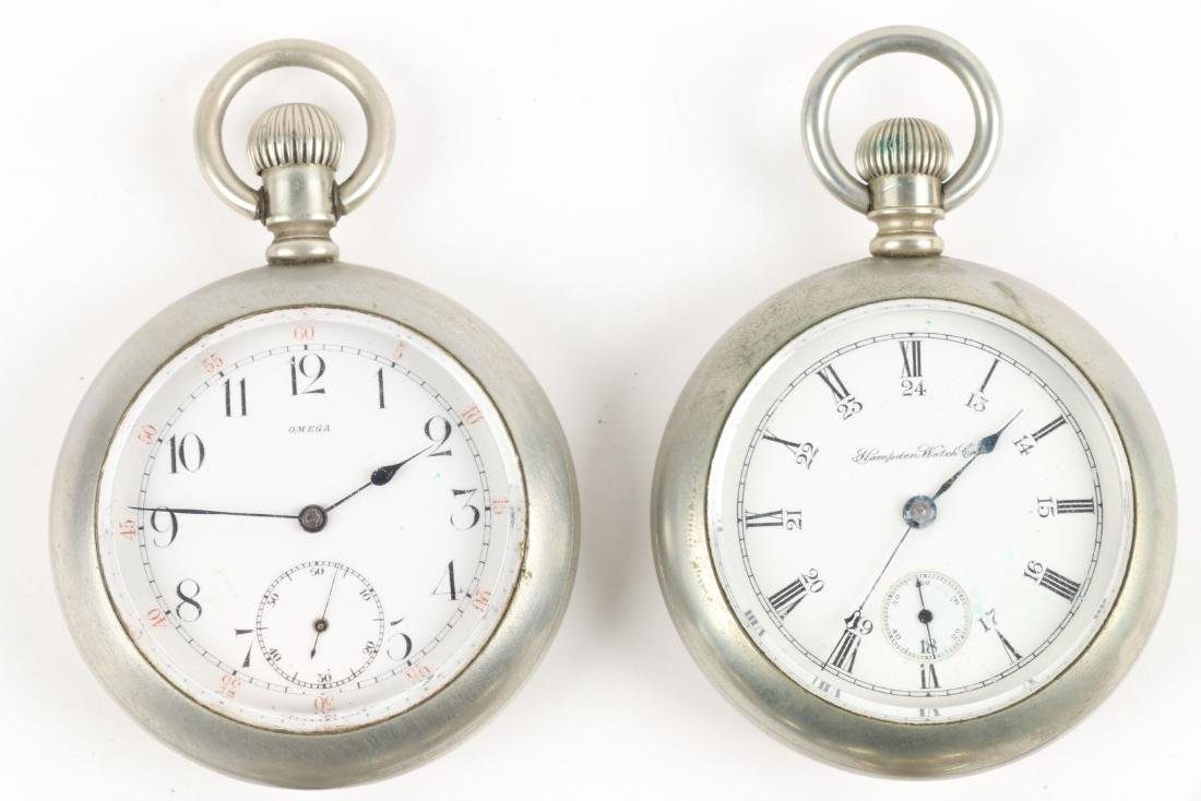 Swiss & American, Pocket Watches - 3