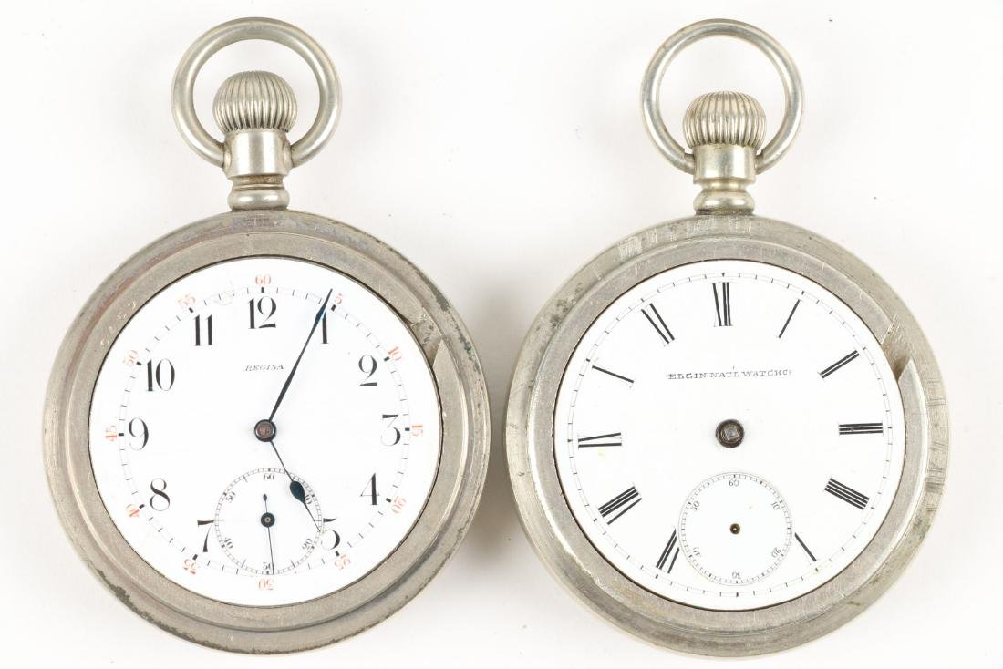 Swiss & American, Pocket Watches - 4