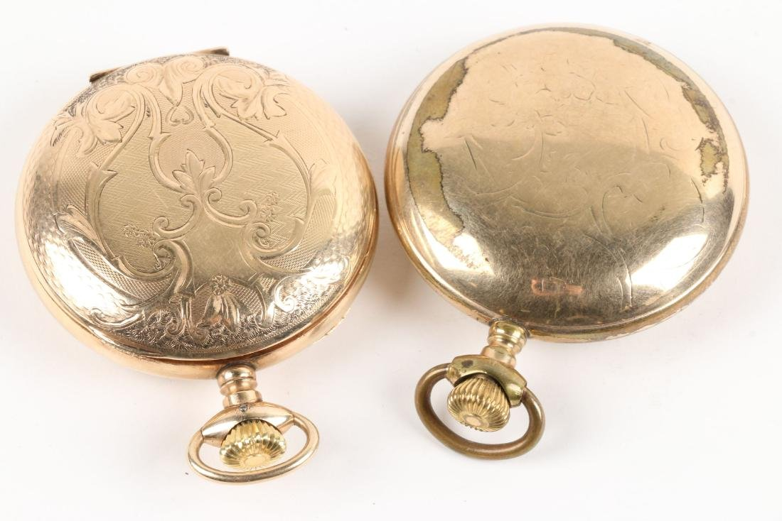 American, Gold Filled & Coin Silver Pocket Watches - 10