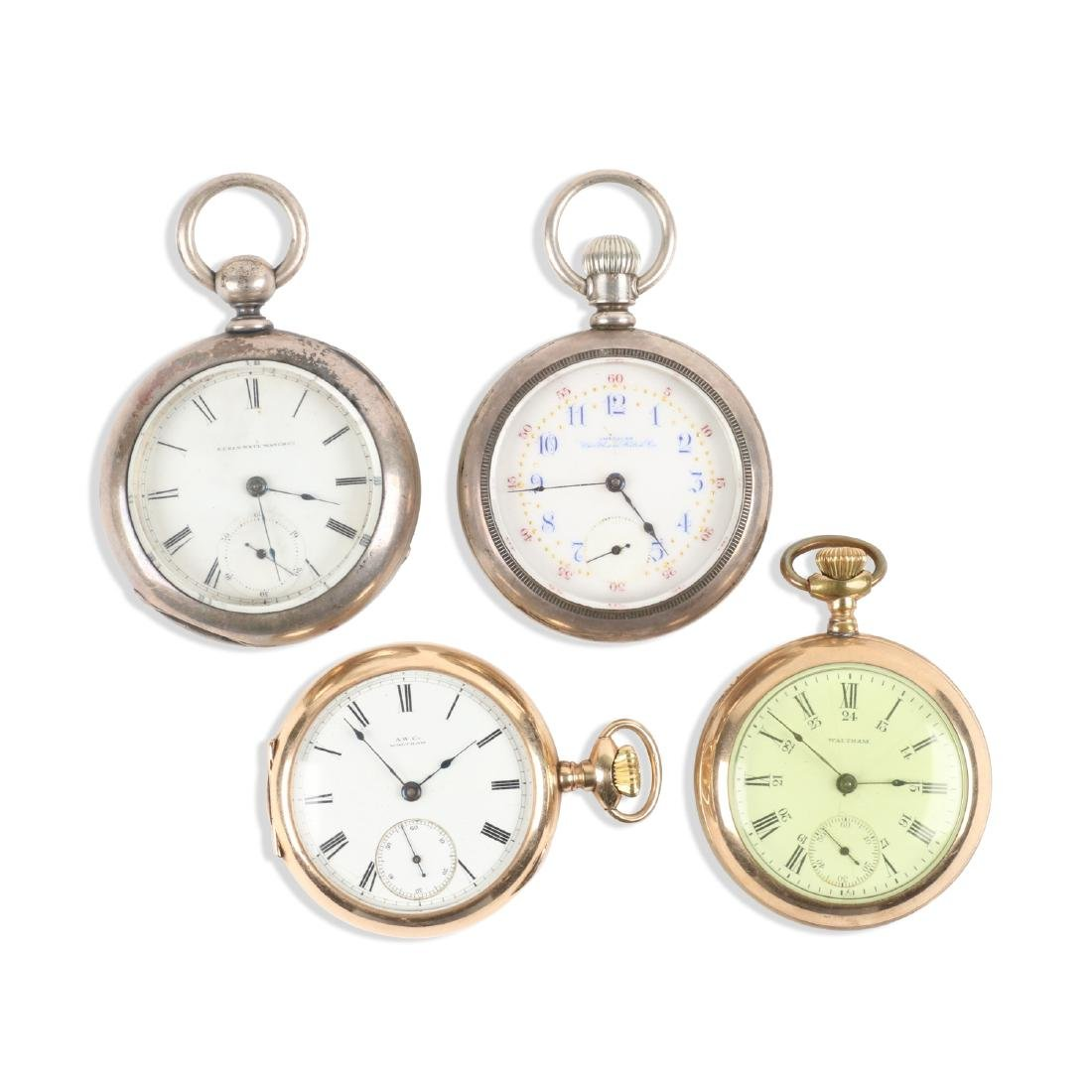 American, Gold Filled & Coin Silver Pocket Watches