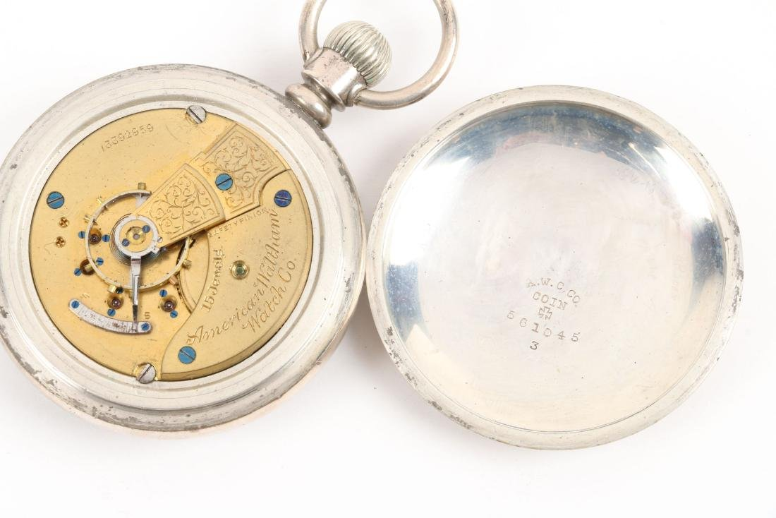 American, Gold Filled & Coin Silver Pocket Watches - 5