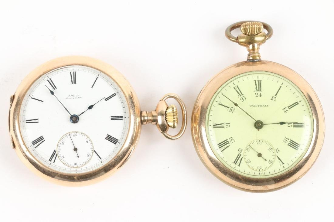 American, Gold Filled & Coin Silver Pocket Watches - 8