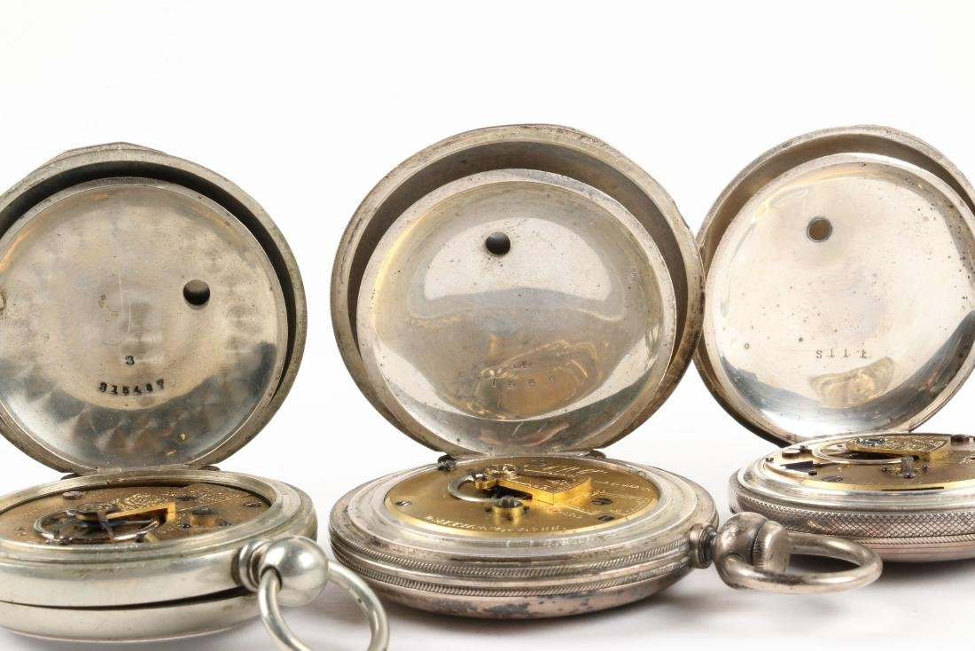 Early, American Key Wind Pocket Watches - 10