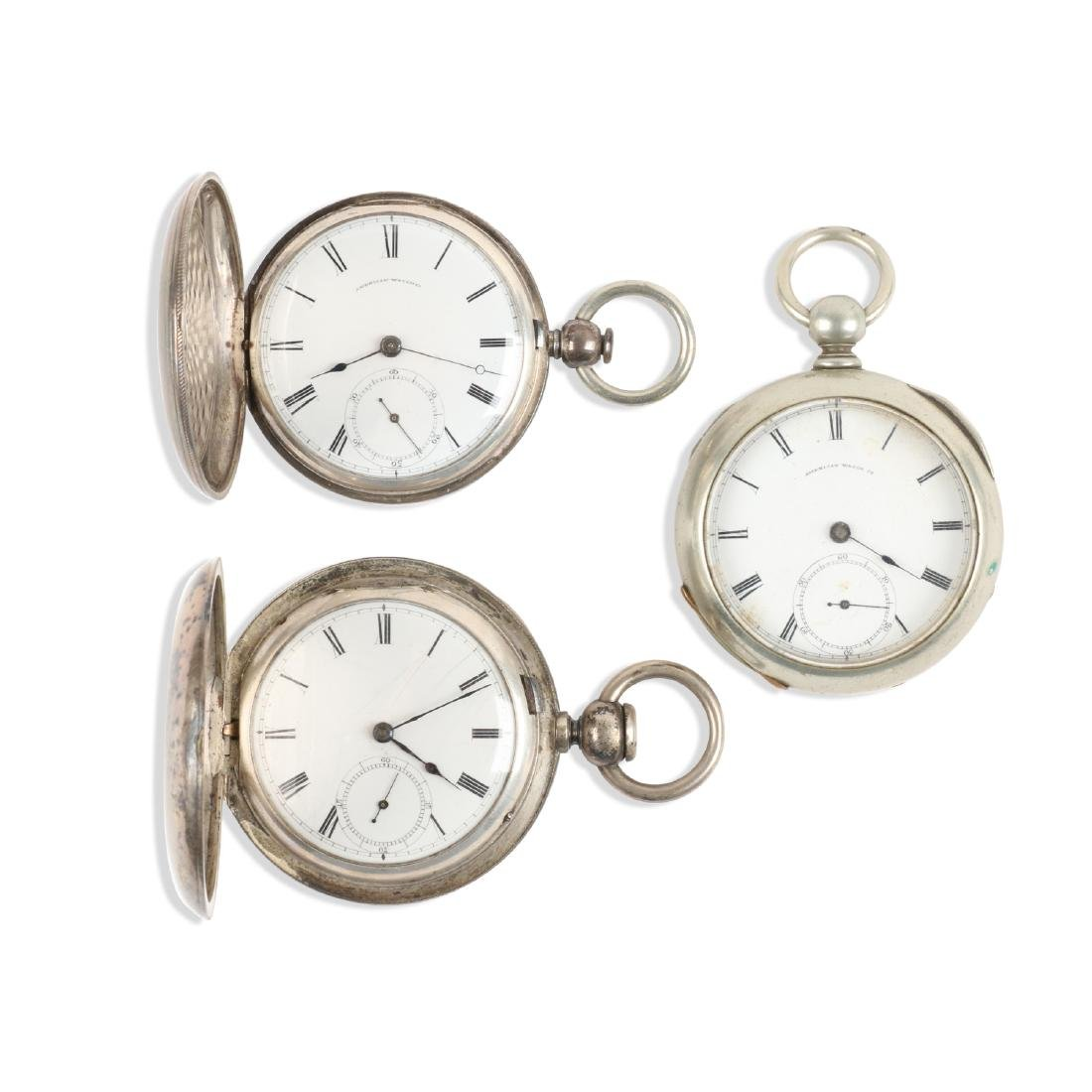 Early, American Key Wind Pocket Watches