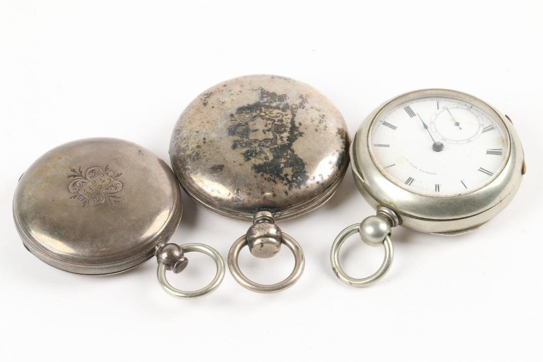 Early, American Key Wind Pocket Watches - 4