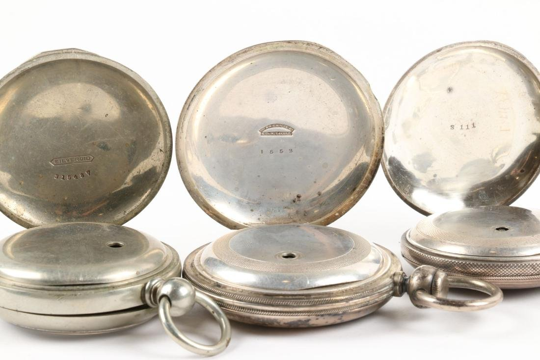 Early, American Key Wind Pocket Watches - 9