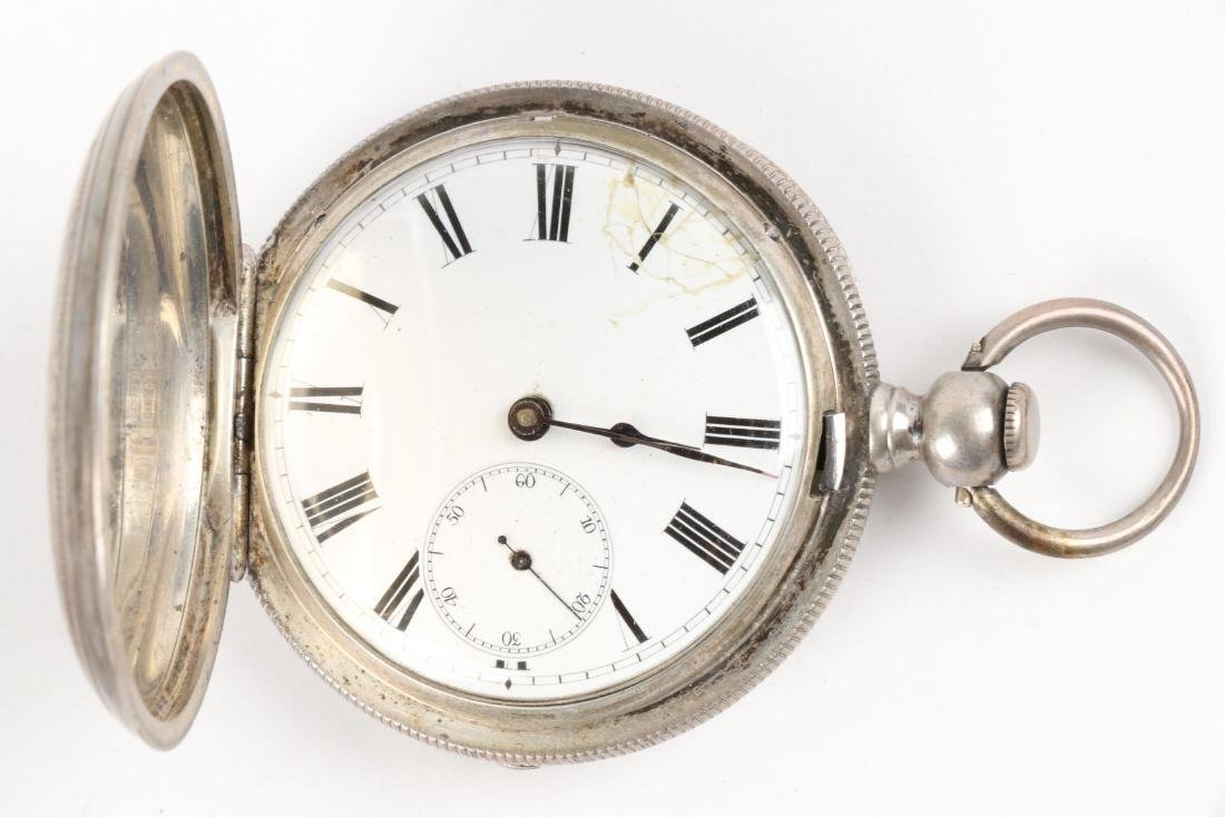 English, Sterling Silver Pocket Watches - 2
