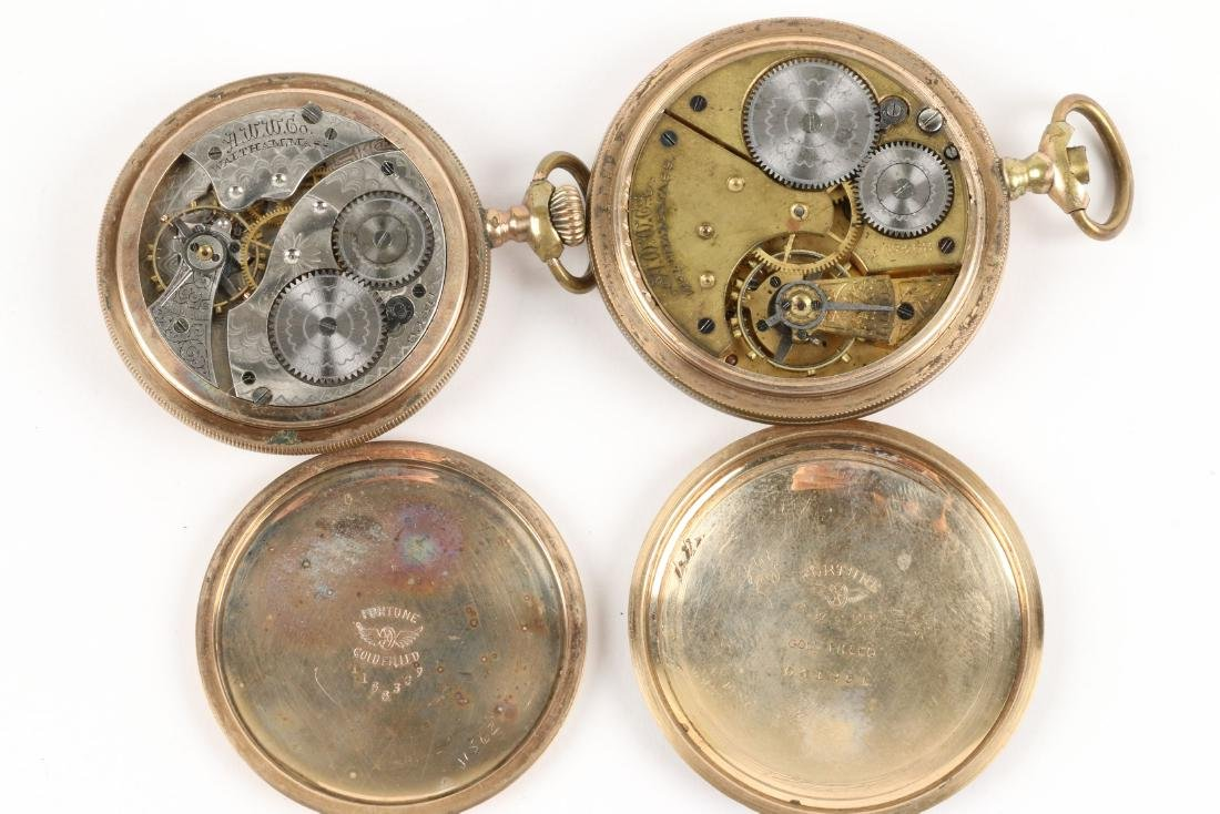 American, Gold Filled Pocket Watches - 10