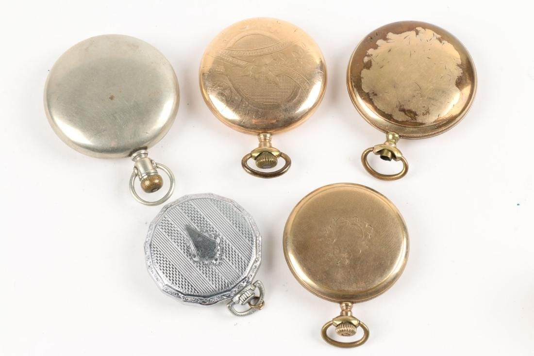 American, Gold Filled Pocket Watches - 6