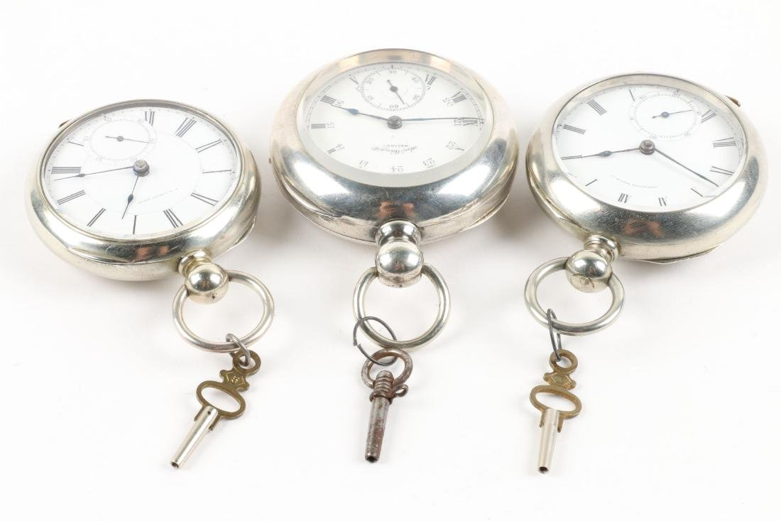 Waltham, Early Key Wind Pocket Watches - 2