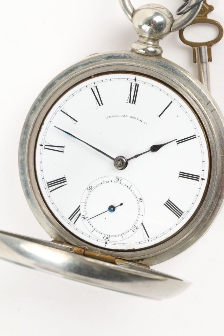 Waltham, Early Key Wind Pocket Watches - 5