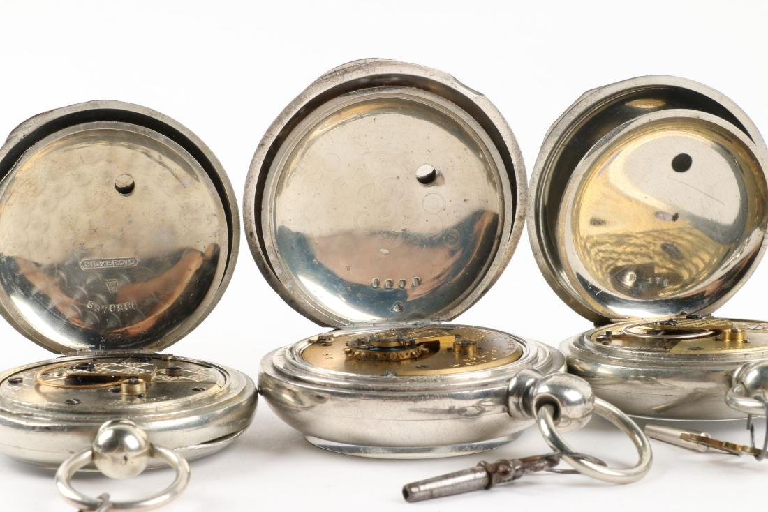 Waltham, Early Key Wind Pocket Watches - 8