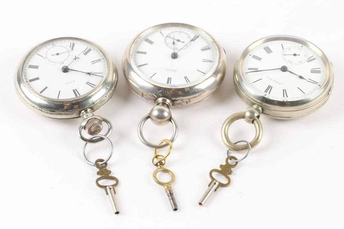 Waltham, Early Key Wind Pocket Watches - 2