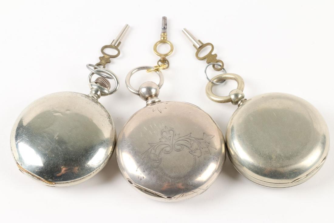 Waltham, Early Key Wind Pocket Watches - 3
