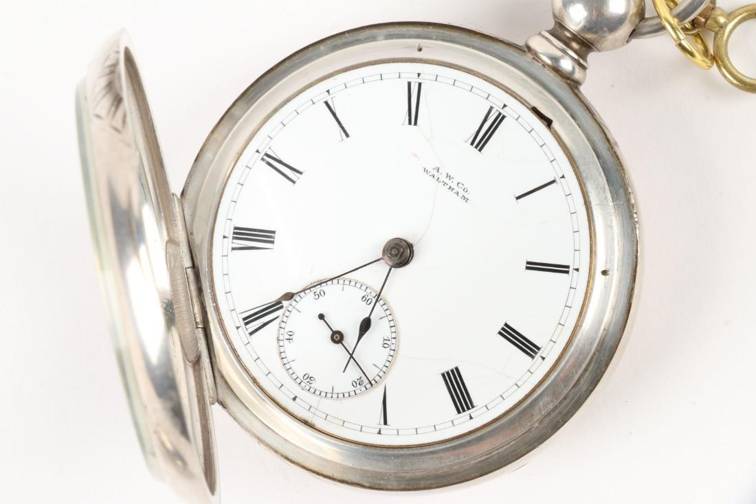 Waltham, Early Key Wind Pocket Watches - 5