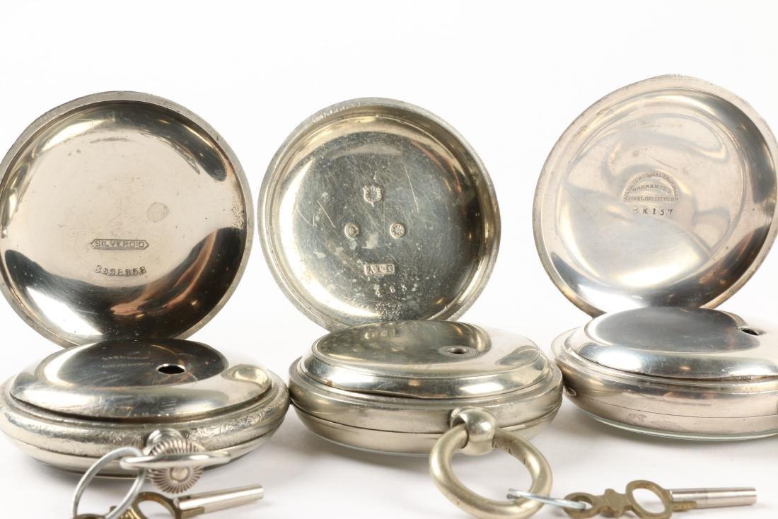 Waltham, Early Key Wind Pocket Watches - 7