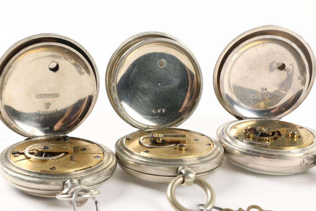Waltham, Early Key Wind Pocket Watches - 8