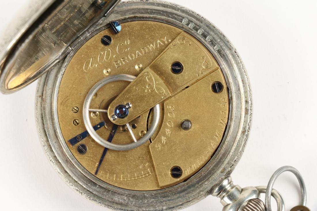 Waltham, Early Key Wind Pocket Watches - 9