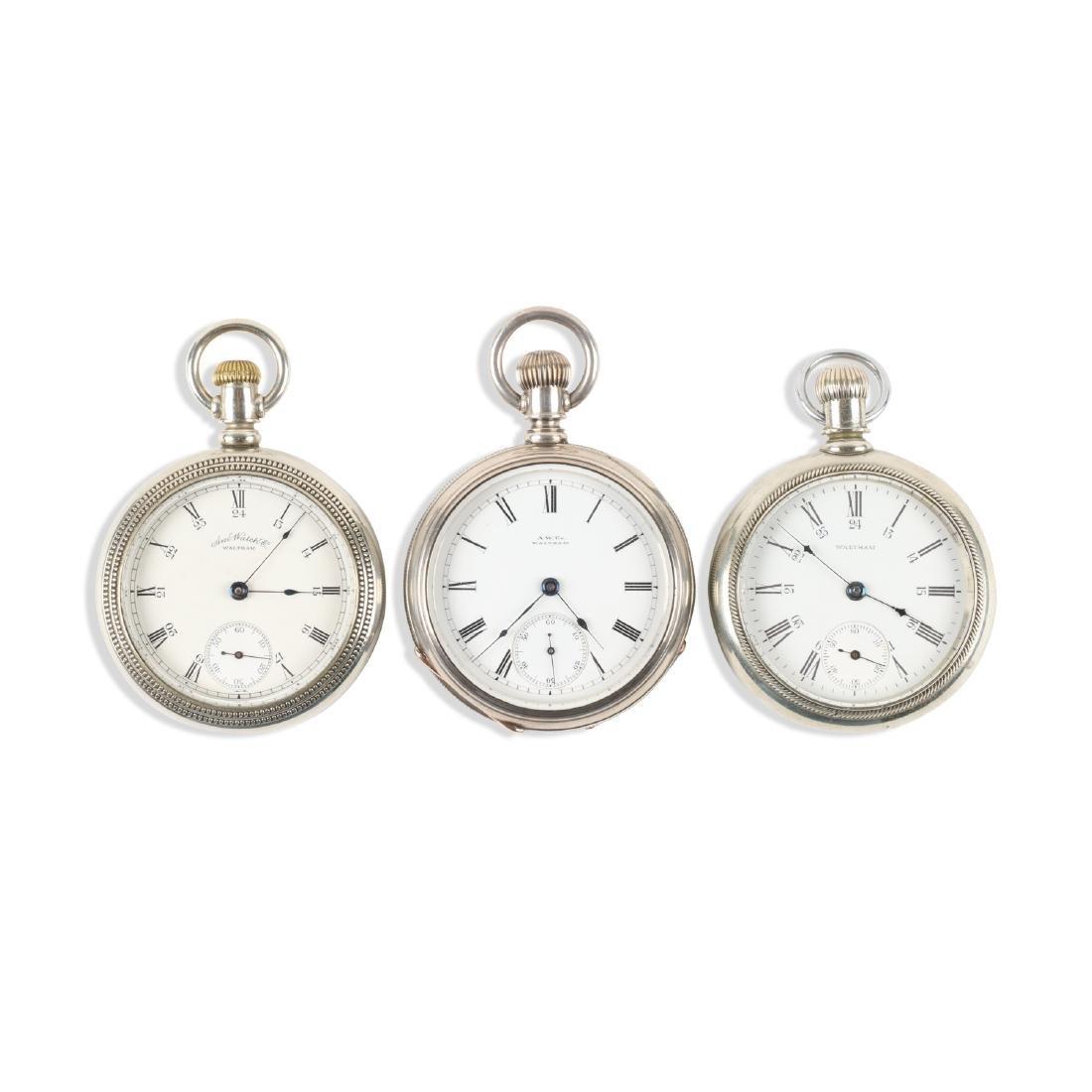 Waltham, Bartlett & Sterling Pocket Watches