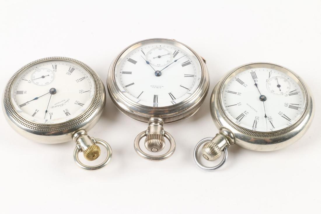 Waltham, Bartlett & Sterling Pocket Watches - 2