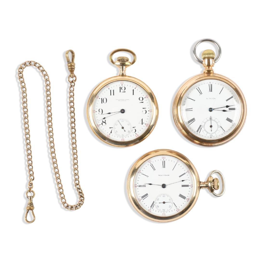 Waltham, 1892 Model & Bond Street Pocket Watches