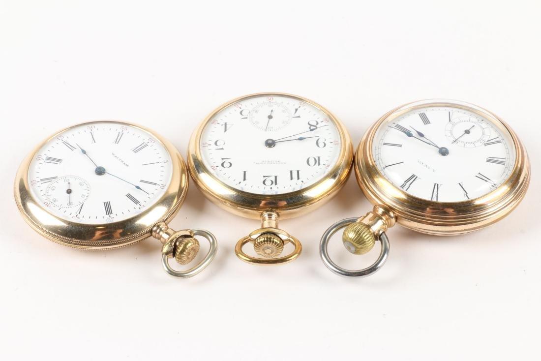 Waltham, 1892 Model & Bond Street Pocket Watches - 2