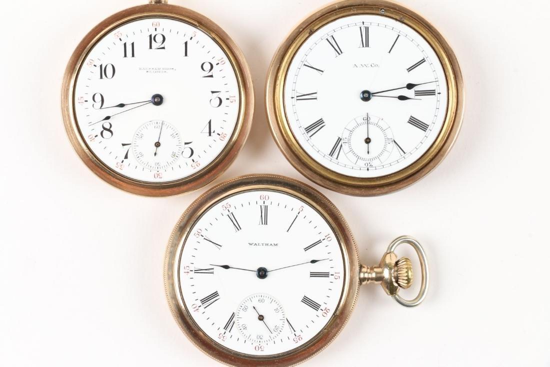 Waltham, 1892 Model & Bond Street Pocket Watches - 4