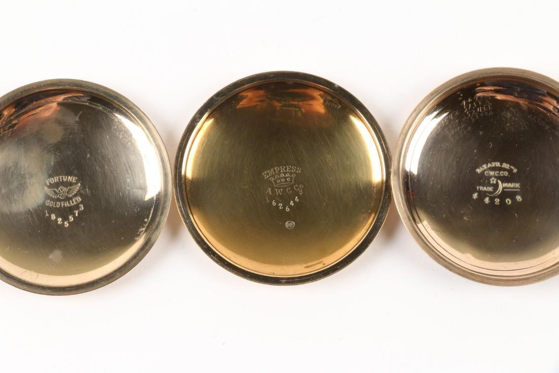 Waltham, 1892 Model & Bond Street Pocket Watches - 5
