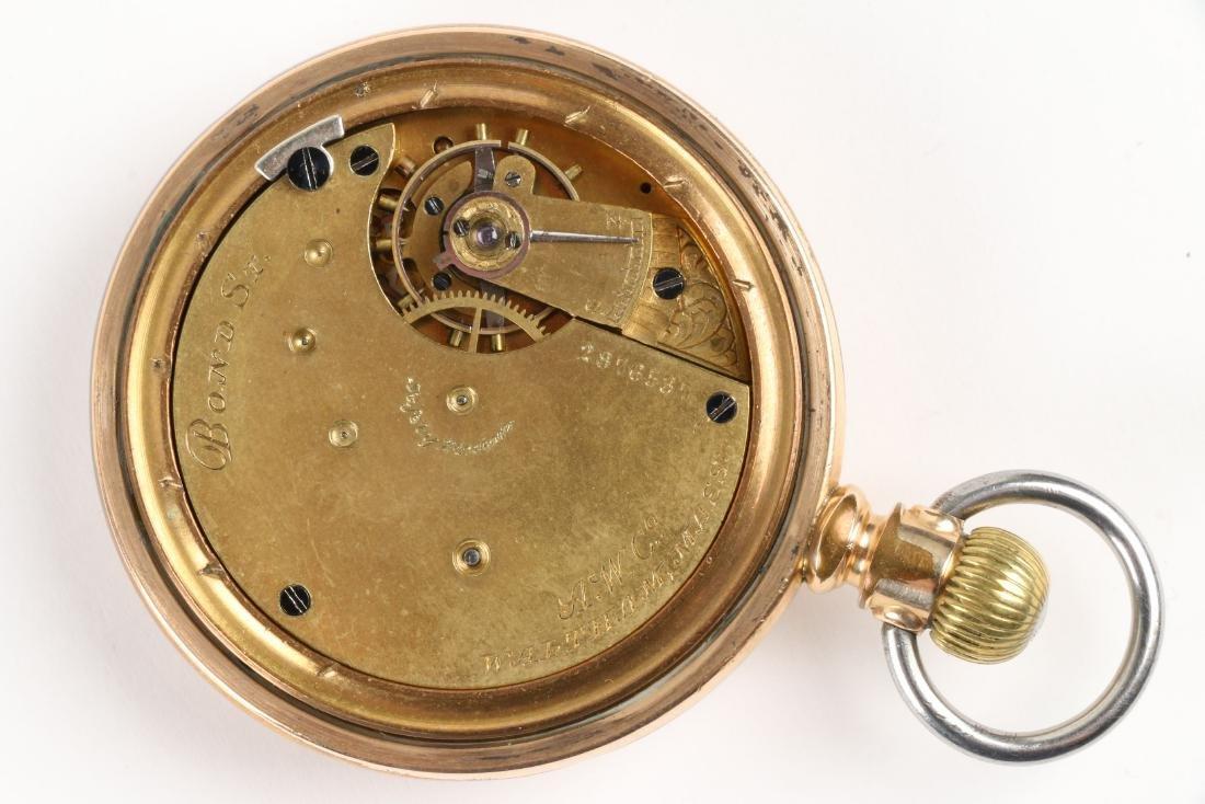 Waltham, 1892 Model & Bond Street Pocket Watches - 8