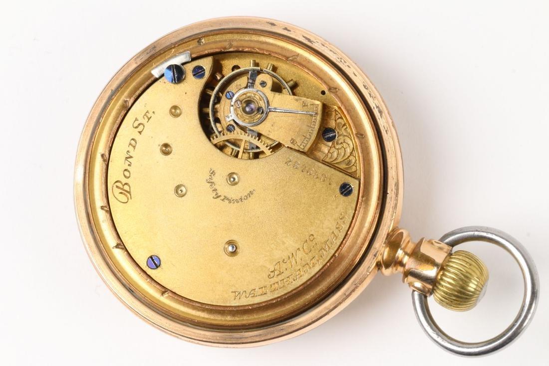 Waltham, 1892 Model & Bond Street Pocket Watches - 9