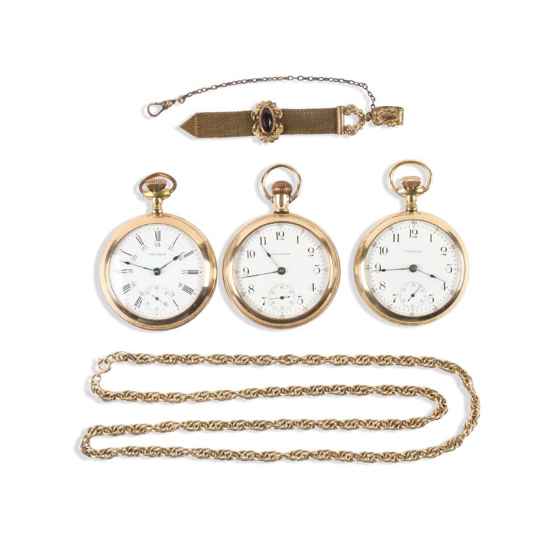 Waltham, 1883 Model Pocket Watches