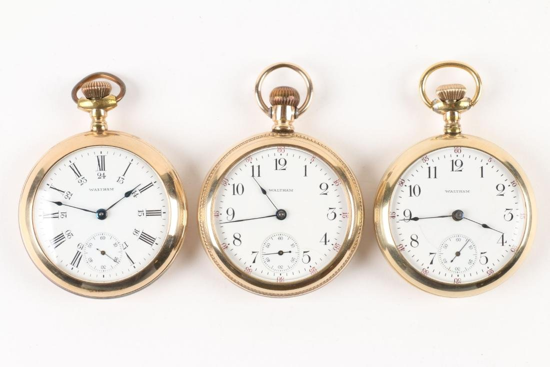 Waltham, 1883 Model Pocket Watches - 2