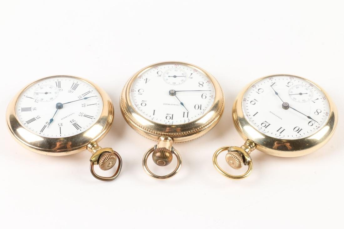 Waltham, 1883 Model Pocket Watches - 3