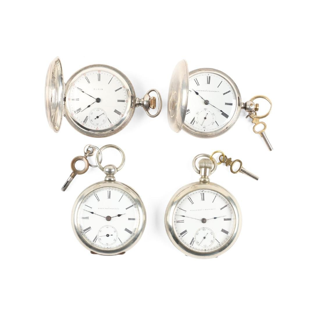 Elgin, Early Key Wind Pocket Watches