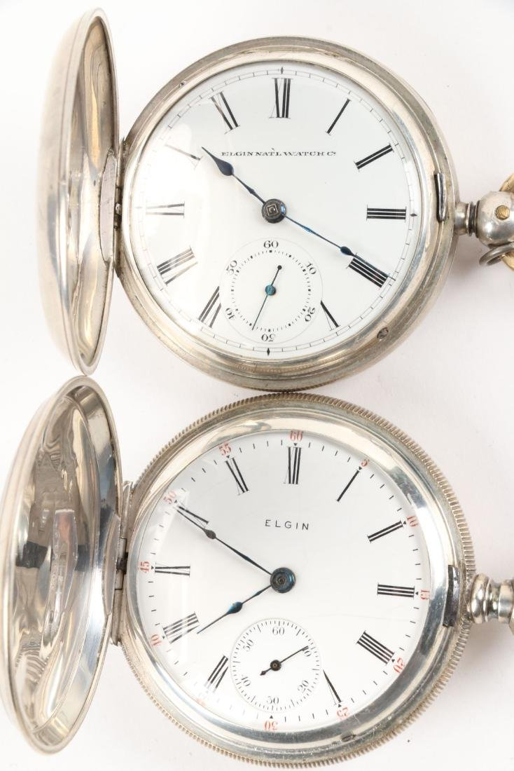 Elgin, Early Key Wind Pocket Watches - 2