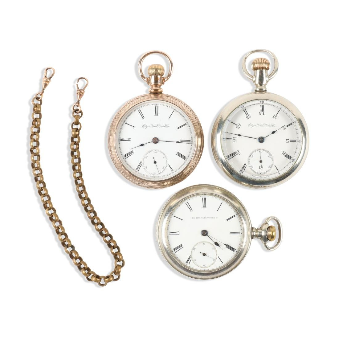 Elgin Nat'l, Pocket Watches