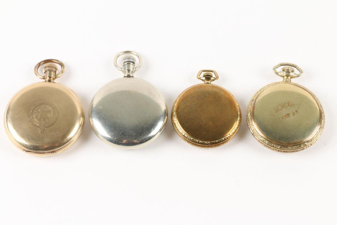 Elgin, Open Face Pocket Watches - 3