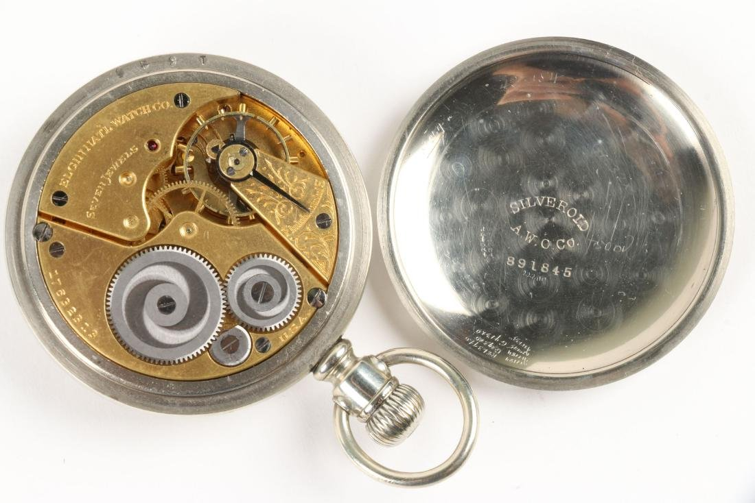 Elgin, Open Face Pocket Watches - 8