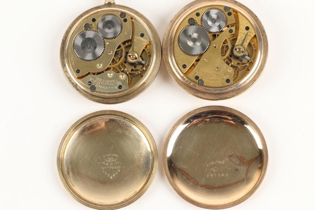 Waltham, Regina, Pocket Watches - 3