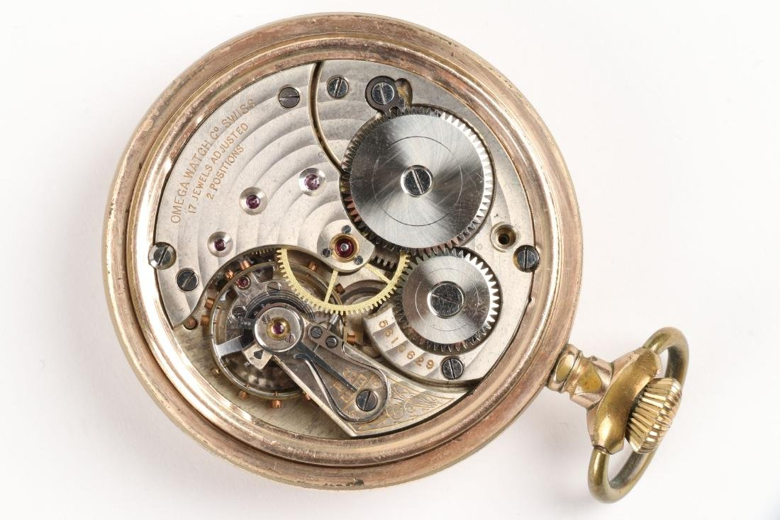 Omega, Pocket Watch & Chain - 7