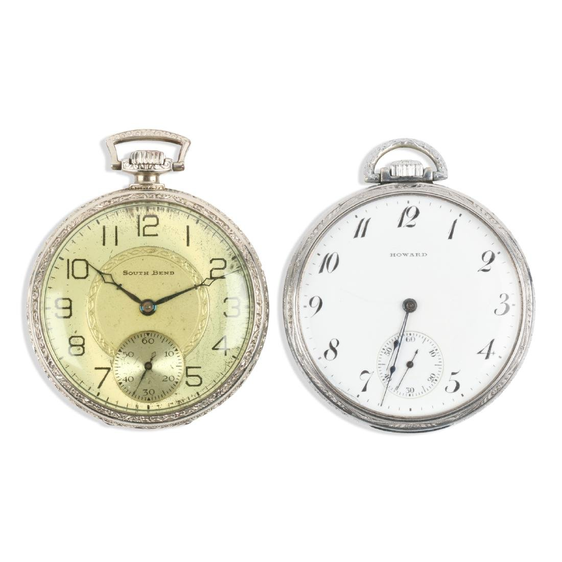 "South Bend, E. Howard, ""429"" & Series 7 Pocket Watches"