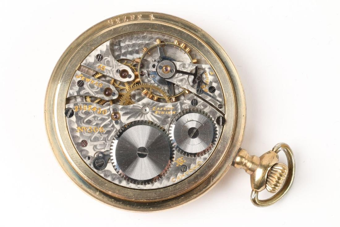 American, Open Face Pocket Watches - 10