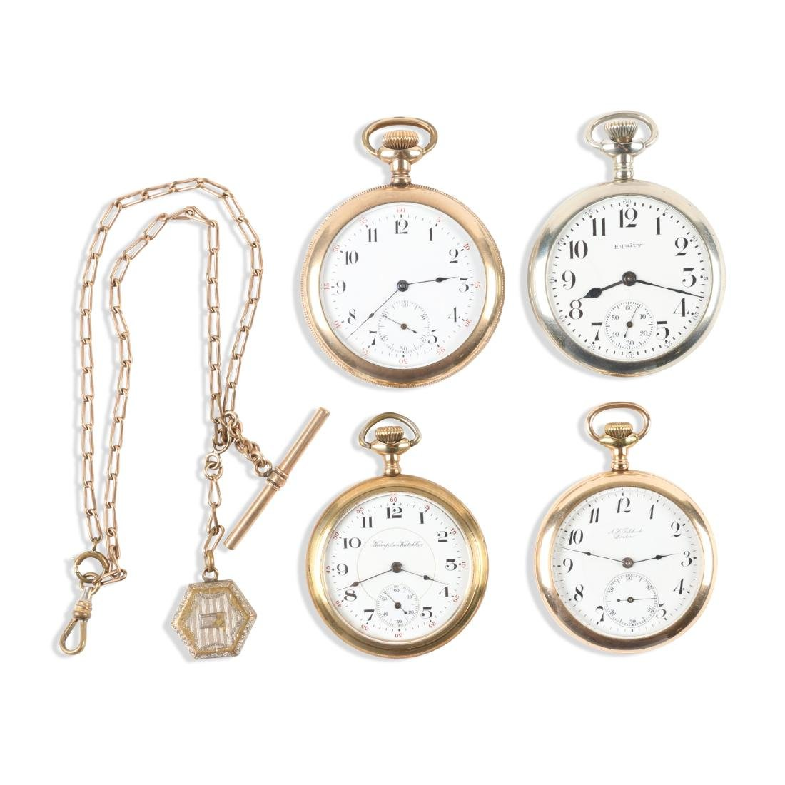 American, Open Face Pocket Watches